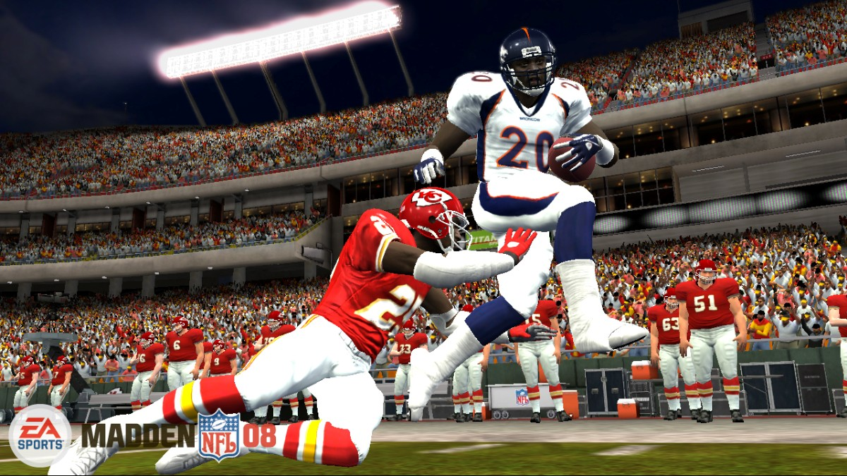 Madden 08 screen Broncos