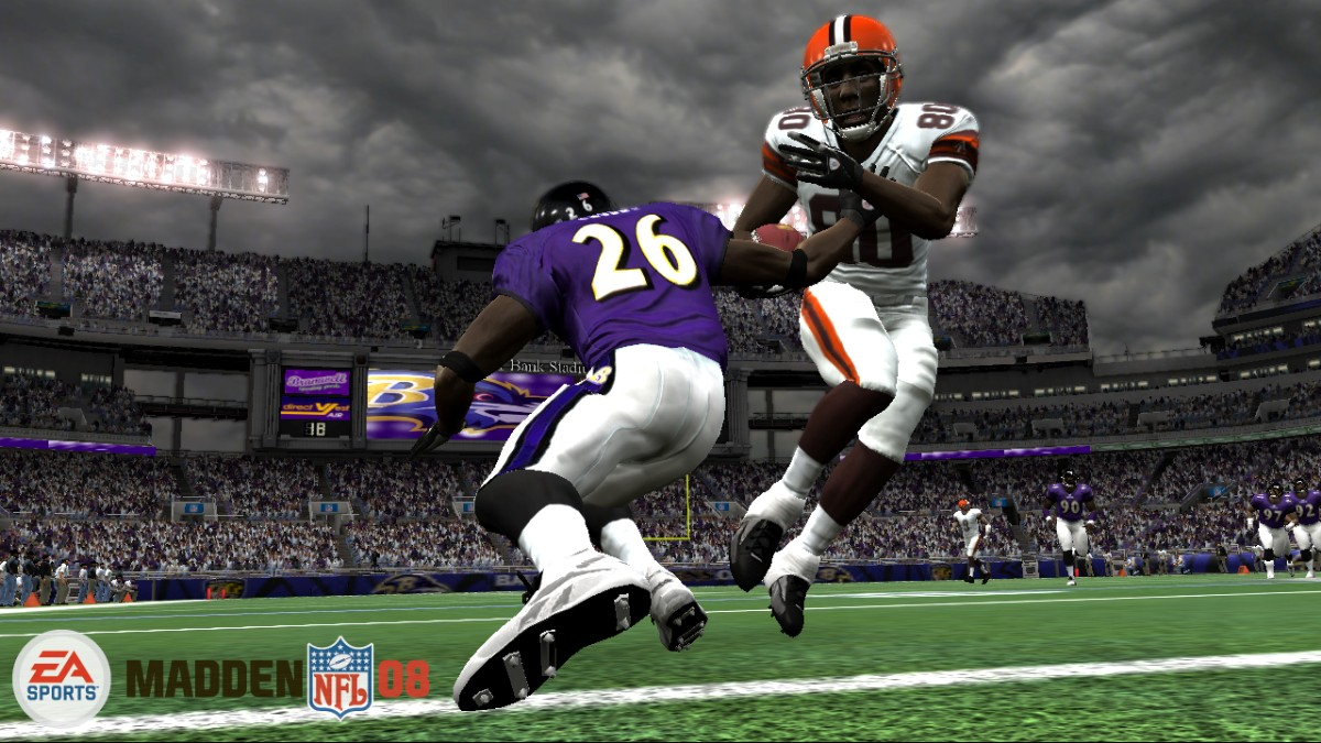 Madden 08 screen Browns