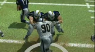Madden 08 Double Team Blocking