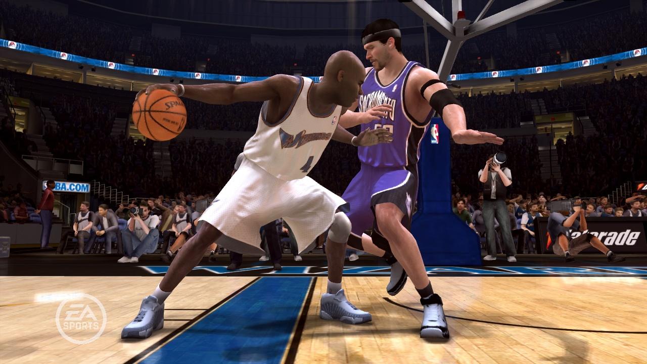 NBA Live 08 Antawn Jamison