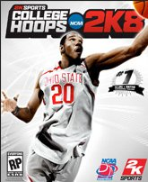 College Hoops 2K8 Greg Oden Cover