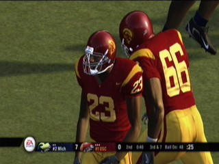 NCAA Football 08 Demo USC
