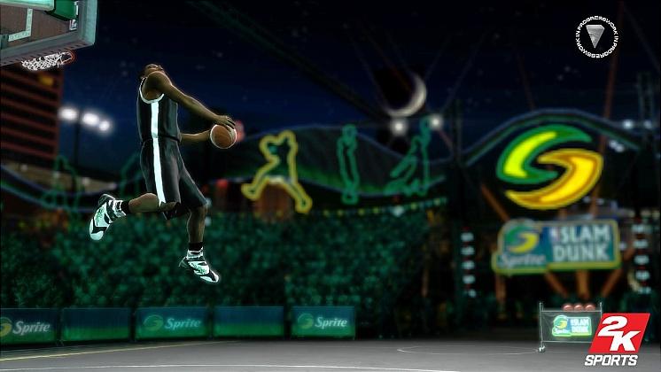 NBA 2K8 Dunk Contest 2
