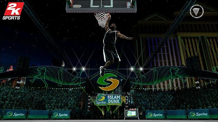 NBA 2K8 Dunk Contest 3