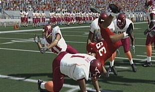 NCAA Football 08 flip