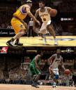 Screenshot comparison Live 08 vs NBA 2K8 PG