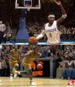 Screenshot comparison Live 08 vs NBA 2K8 PG 2