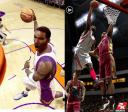 Screenshot comparison Live 08 vs NBA 2K8 tall