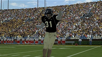 Padre celebrates against Maryland