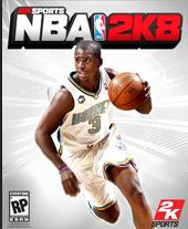 NBA 2K8 cover