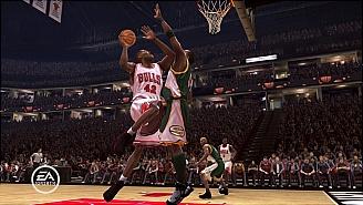 NBA Live 08 Bulls vs Sonics