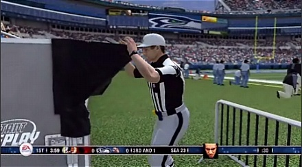 Face in Madden 08