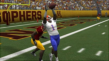 NCAA Football 08 video highlight contest
