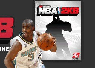 NBA 2K8 Cover Athlete Chris Paul
