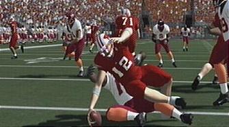 NCAA Football 08 sack