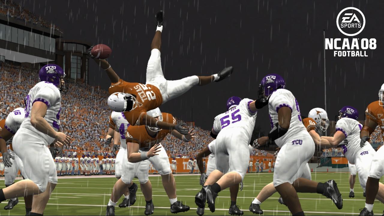 NCAA Football 08 Texas Flip
