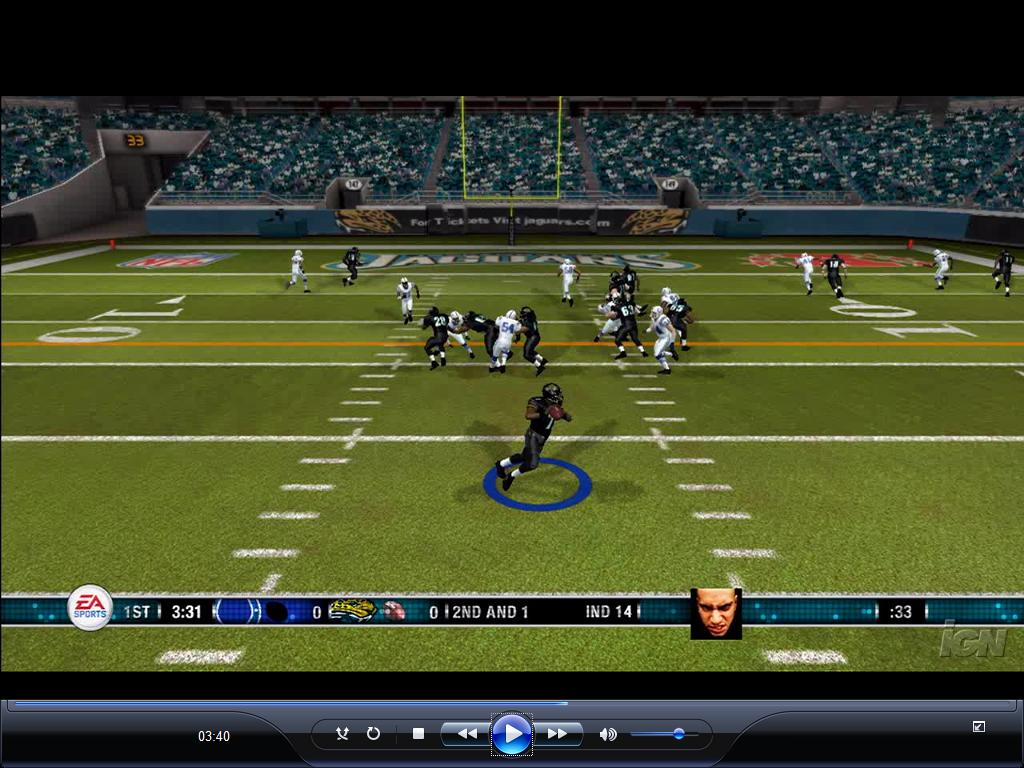 The mysterious face in Madden 08 | pastapadre com