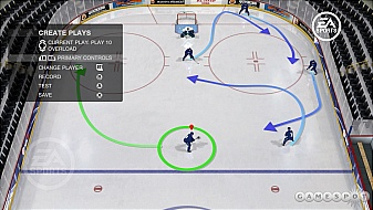 NHL 08 Create-a-Play feature