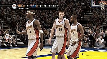 NBA Live 08 Warriors