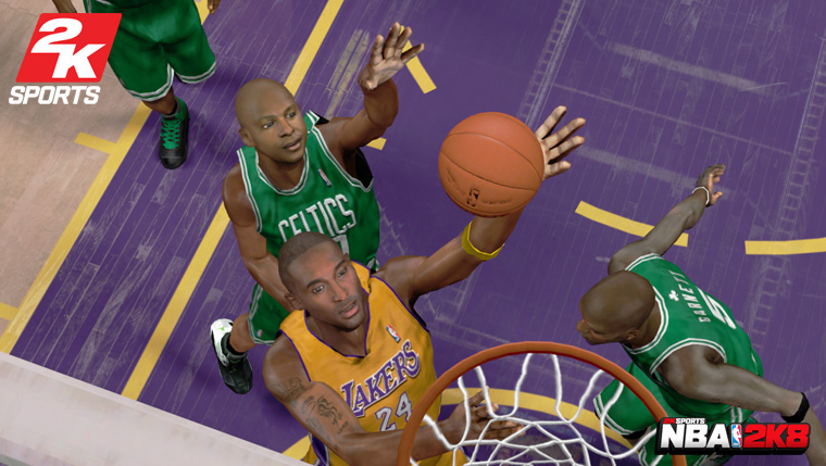 new nba 2k8 videos screens and association details