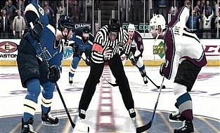 AVS vs Blues NHL 08