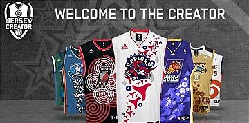 NBA Live 08 jersey creator contest