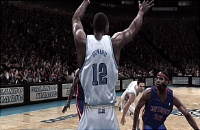 Magic vs Pistons NBA Live 08