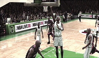 Paul Pierce layup NBA Live 08