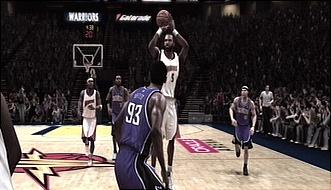 Warriors vs Kings NBA Live 08 online