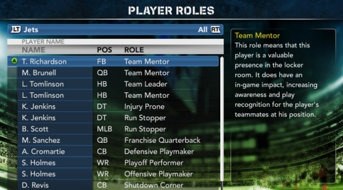 Madden 12 Franchise Mode Details