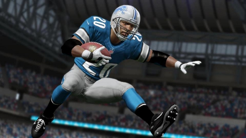 Few Madden NFL 13 Ratings for Barry Sanders, Michael Irvin, and
