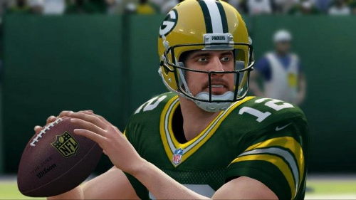 Aaron Rodgers Madden 25