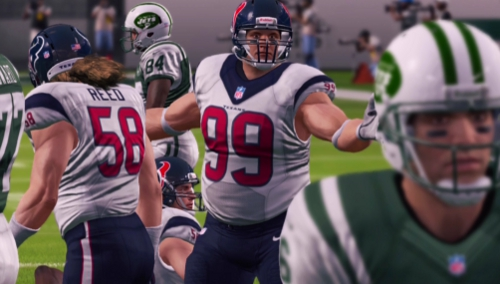 what position does jj watt play in madden