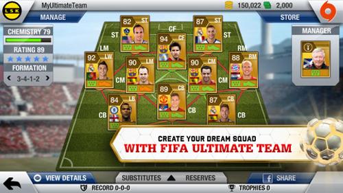 FIFA 13 for iOS Adds Ultimate Team | pastapadre.com