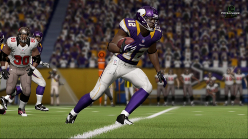 the roster update following week eight of the season for madden nfl 13