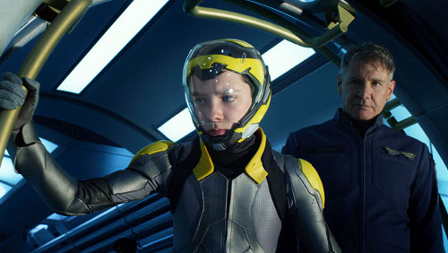 ASA BUTTERFIELD and HARRISON FORD star in ENDER'S GAME