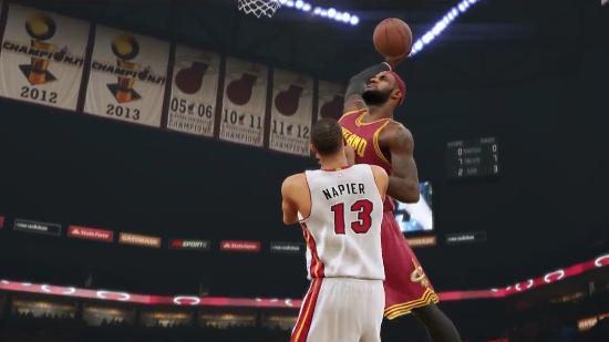 nba2k15trl2 First Trailer for NBA 2K15