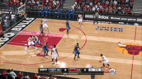 The Hidden Gem of NBA Live 15 Is The ESPN Camera Angle