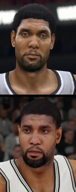 NBA 2K15 vs NBA Live 15 Player Face Comparisons – Part Two ...