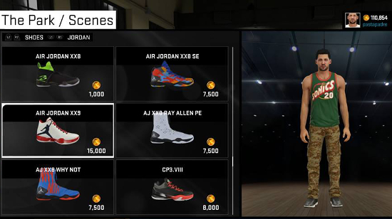 Xbox 360 nba 2k12 shoe patch