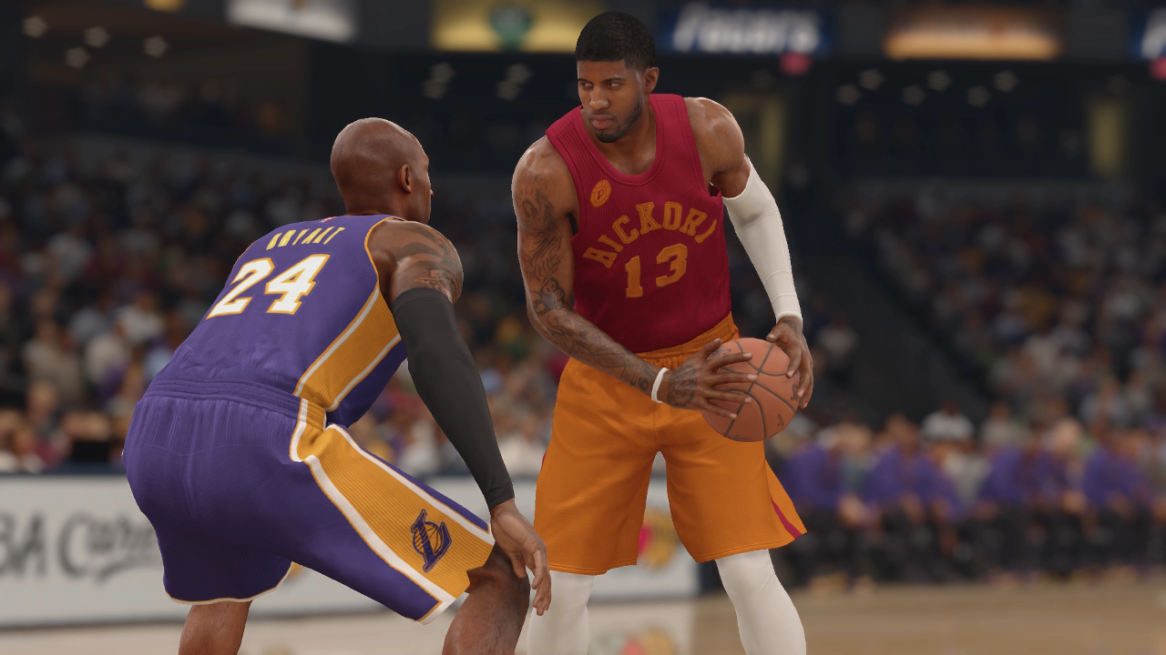 NBA Live 16 Pacers Hickory jerseys