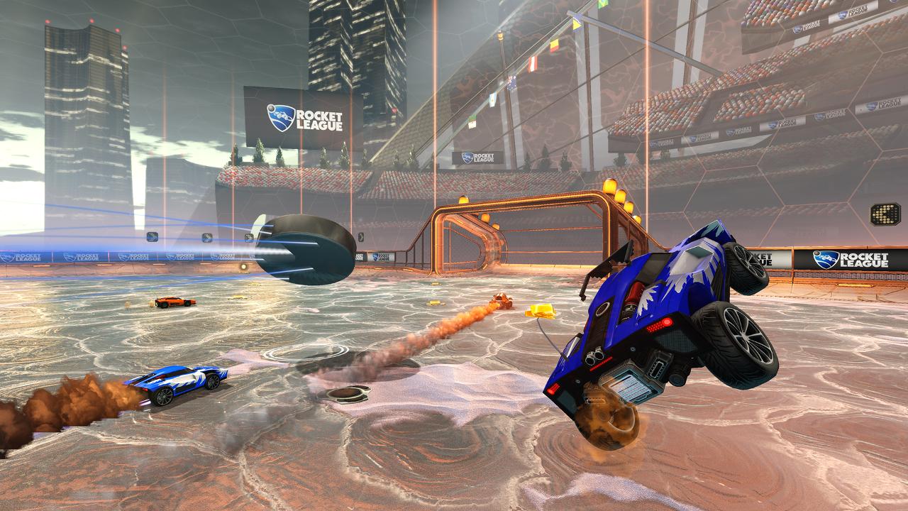 Rocket League Hockey