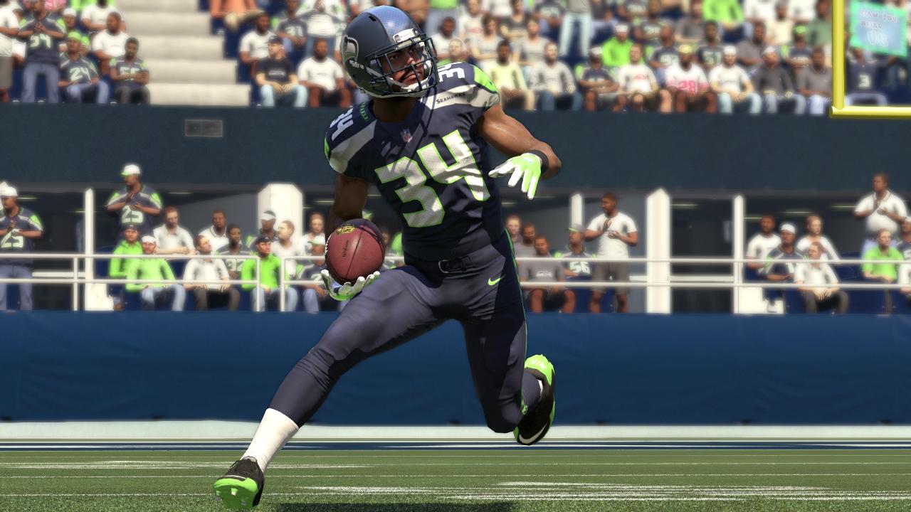 Madden NFL 16 Thomas Rawls