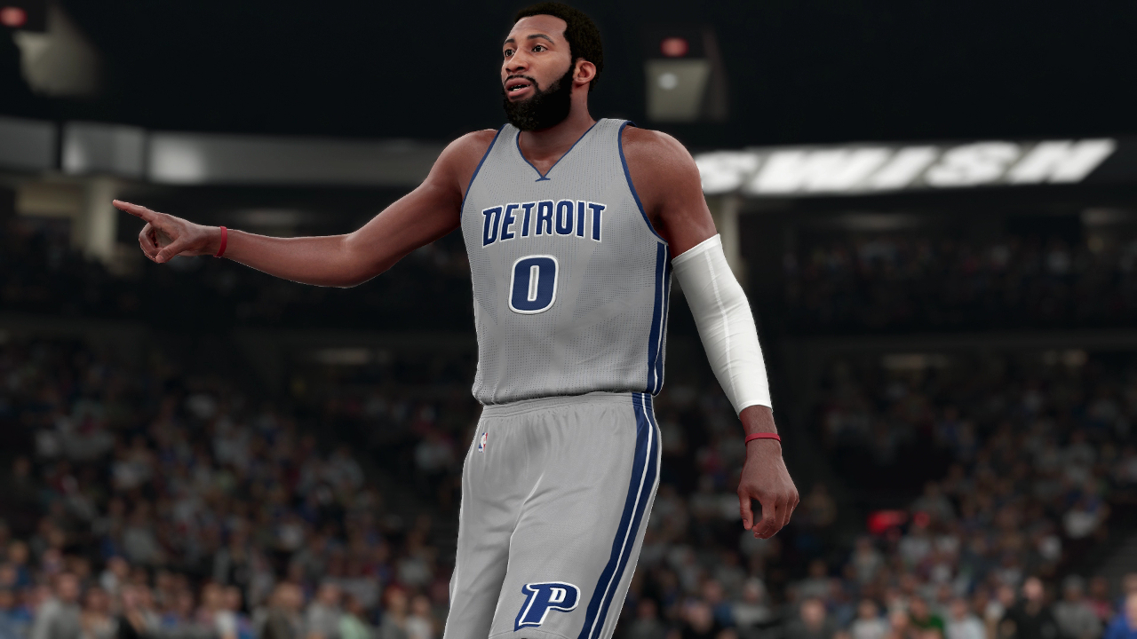 NBA 2K16 Andre Drummond