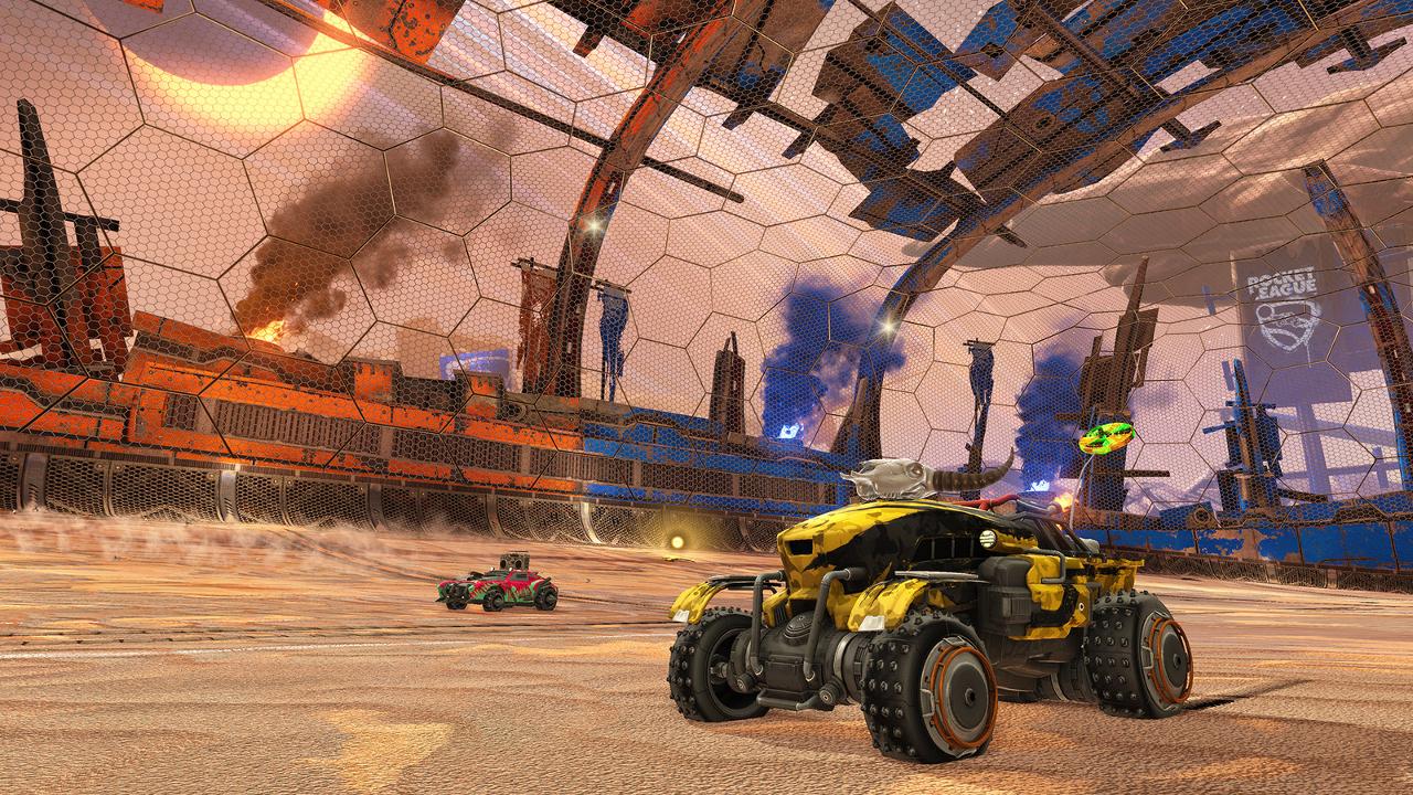 Rocket League Wasteland Arena