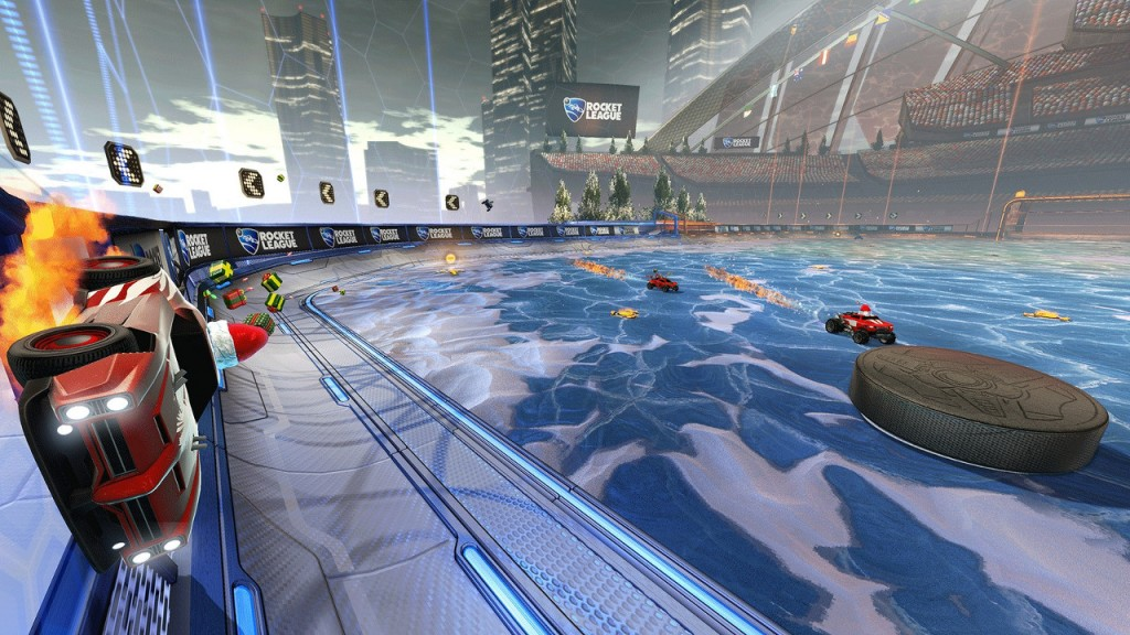 Rocket League Hockey