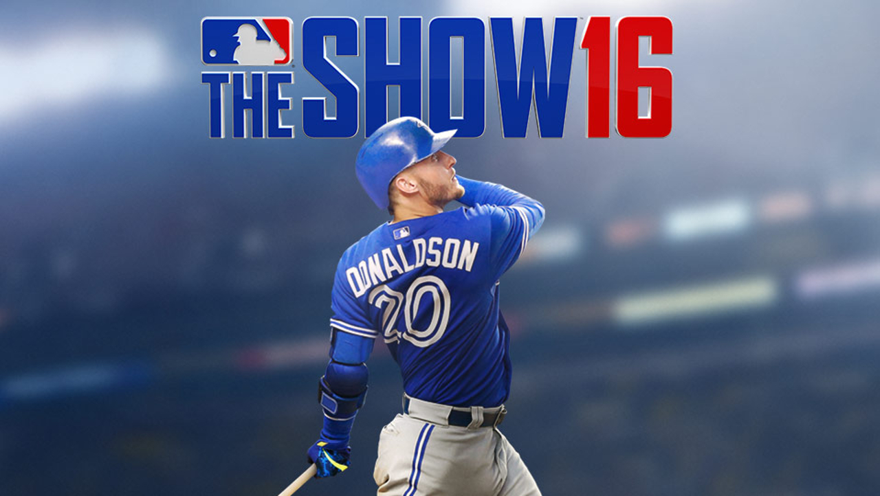 MLB The Show 16 Josh Donaldson cover