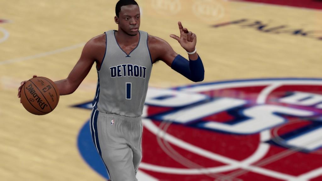 NBA 2K16 Reggie Jackson
