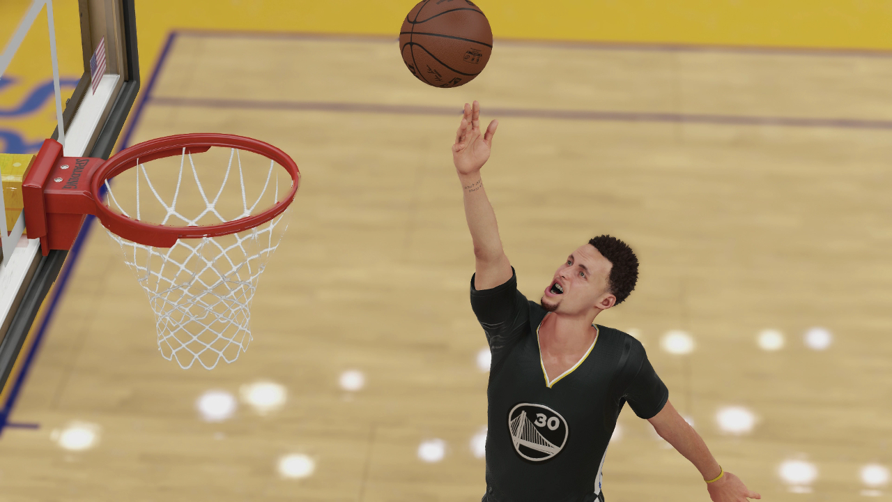 NBA 2K16 Steph Curry