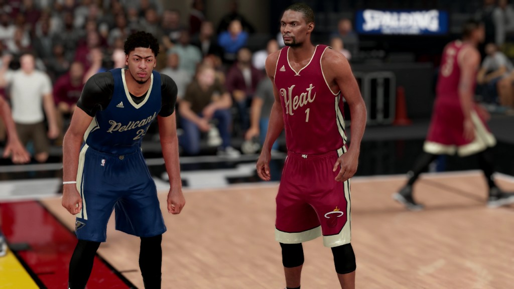 b0c1d244cf94 NBA 2K16 Christmas jerseys Pelicans Heat